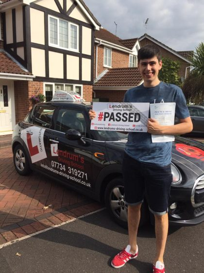 josh Lendrums Driving School Southampton Automatic