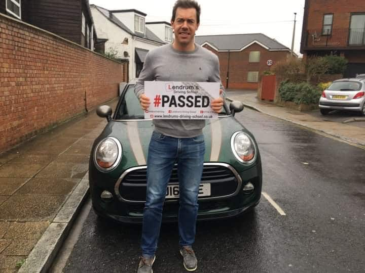 Student Who Passed Their Driving Test in Portsmouth and Southsea with Lendrums Driving School