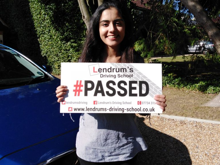 Passed Driving Test Winchester Driving Lessons Lendrum s Driving School